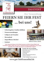 Flyer Eventvermietung